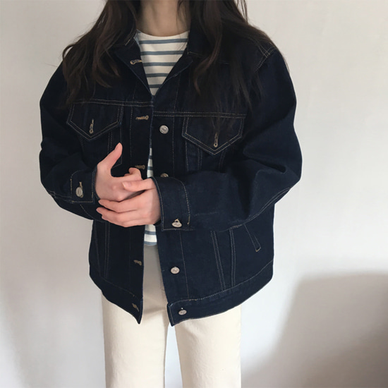 debb denim jacket (생지진청)