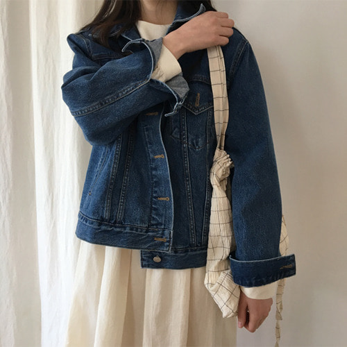 debb denim jacket (연청/중청)
