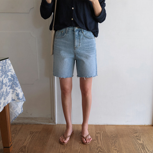 ongo shorts denim (연중청)
